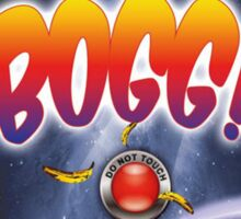 Front cover of the book of Bogg! Sticker