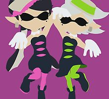 Callie & Marie (Pink) - Splatoon by samaran