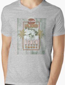PARADISE TOURS Mens V-Neck T-Shirt