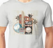 BOARD ROOM MOTEL Unisex T-Shirt