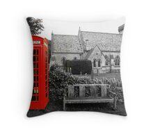 The English Countryside Throw Pillow