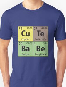Periodic Table - Cute Babe T-Shirt