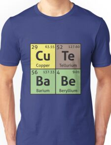 Periodic Table - Cute Babe Unisex T-Shirt
