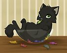 Kitty candy thief by Tunnelfrog