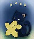 Little star kitten hug by Tunnelfrog