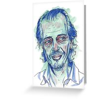 Steve Buscemi portrait Greeting Card