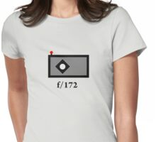 pinhole Womens Fitted T-Shirt