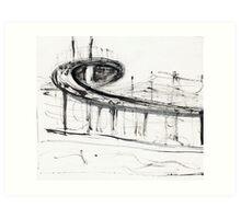Westgate Bridge Art Print