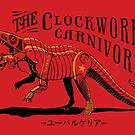 Clockwork Carnivore (Red EUPARKERIA-TYPE) by cubelight