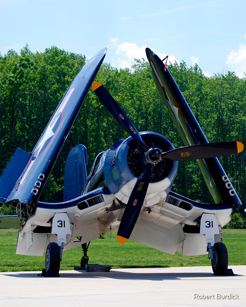 1945 Goodyear FG-1D Corsair by Robert Burdick