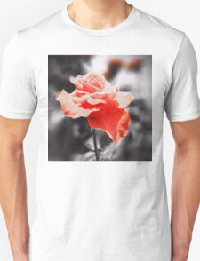 Romantic Rose Flowers Unisex T-Shirt