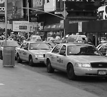 NYC Cabs by perrycass