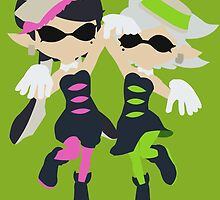 Callie & Marie (Green) - Splatoon by samaran