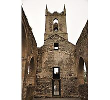 Baltinglass abbey inside view. Photographic Print