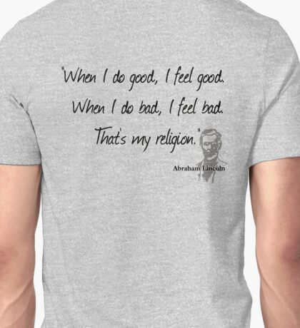Lincoln Quote Unisex T-Shirt