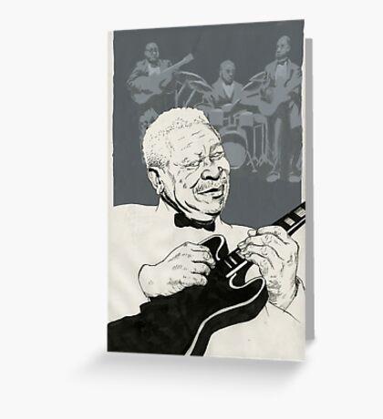 B. B. King Greeting Card