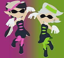 Callie & Marie - Splatoon by samaran