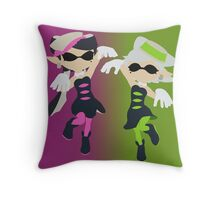 Callie & Marie - Splatoon Throw Pillow