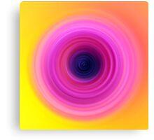 Pastel Pink Sunflower Canvas Print