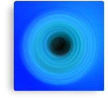 Blue Blue Blue Canvas Print