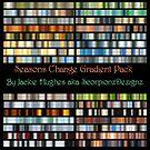 Seasons Change Gradient Pack Cover by Jaclyn Hughes
