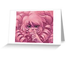 Rose's Secrets Steven Universe Rose Quartz Greeting Card