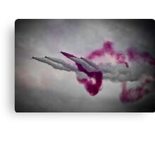 Red Arrows. Canvas Print