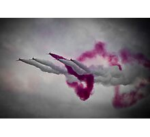 Red Arrows. Photographic Print