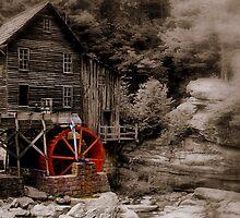 Glade Creek Grist Mill by NervisGrafix