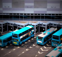 Blue Buses by MissyMay