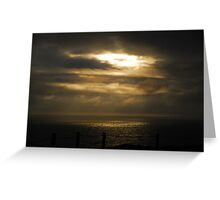 Sun Break Marin Headlands Greeting Card