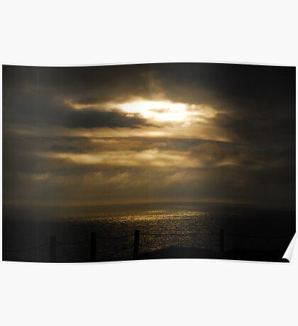 Sun Break Marin Headlands Poster
