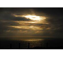Sun Break Marin Headlands Photographic Print