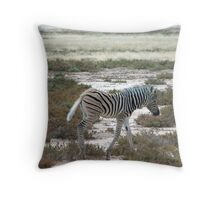 Zebra – crossing Throw Pillow