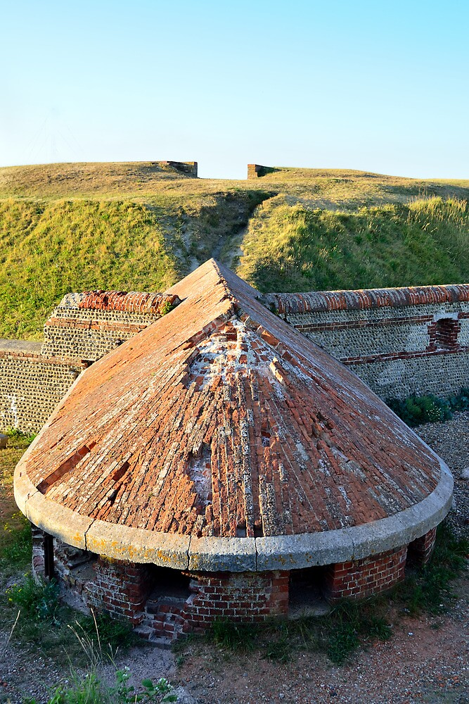 Shoreham Fort, Sussex by Stephen Frost