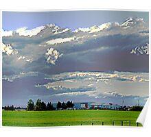 The Prairie near Claresholm Poster