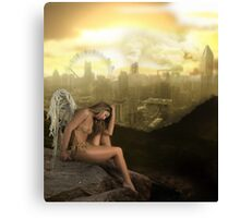 Wings of Despair Canvas Print
