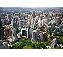 Kuala Lumpur City Photographic Print