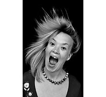 Anger ... or .... happiness Photographic Print