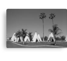 Route 66 - Wigwam Motel Canvas Print