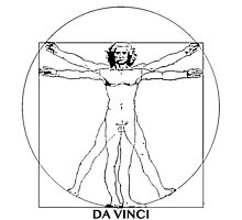 Da Vinci Vitruvian Man by priceling