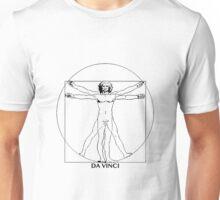 Da Vinci Vitruvian Man Unisex T-Shirt