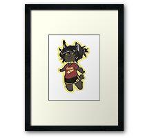 Lynx Beans Framed Print