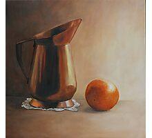 Copper and Orange Photographic Print