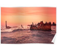 S.S Dicky Shipwreck Poster