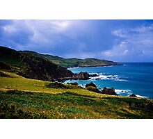 Devon coast on a sunny day Photographic Print