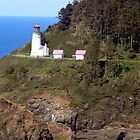 Heceta Head Lighthouse by Keely Forcier