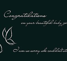 Congratulations On Your Beautiful Baby Girl by Franchesca Cox