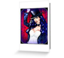 Spell Caster Greeting Card