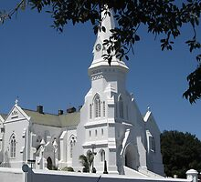 Whitest of the White  (Malmesbury, South Africa) by Marie Theron